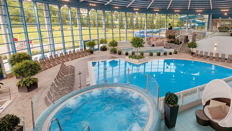 H2Oberhof Wellnessbad Pool   Urlaub im Hotel Thüringenschanze Oberhof buchen