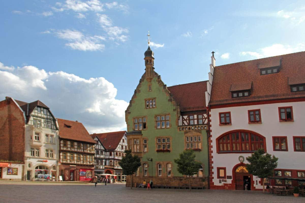 Altstadt Schmalkalden     Oberhof Hotel Urlaub im Thüringenschanze