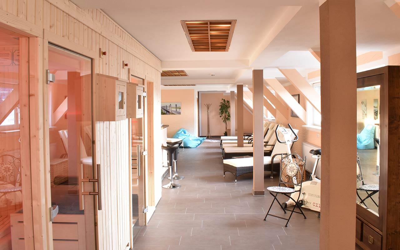 Sauna und Wellness im Hotel Thüringenschanze   Hotel in Oberhof buchen